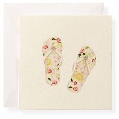 Flip Flops Individual Gift Enclosure