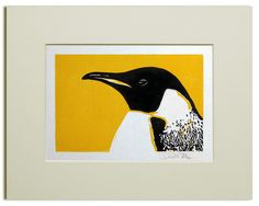 Penguin+Linocut £15.00