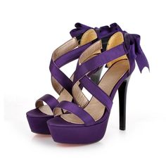 Sexy Purple High Heels