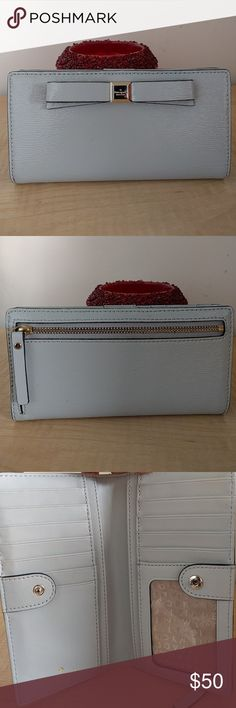 Kate spade wallet It's in gently used good condition.Look at the pictures for more details. kate spade Bags Wallets