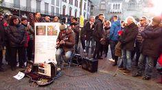 "Marcello Calabrese - street guitarist ""Shine On You Crazy Diamond"", live..."