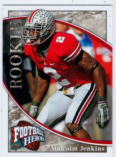 Sports Cards 2009 UD Football Heroes RC Malcolm Jenkins