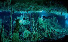 Cavernas nas Bahamas são último ensaio de fotógrafo submarino que morreu em ação - Ciência - iG
