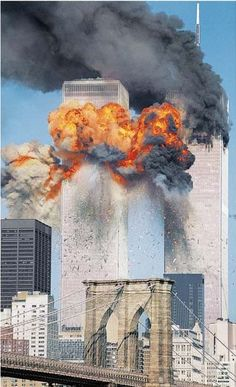 Research: South Tower Hit World Trade Center Nyc, World Trade Center Attack, Vintage Pictures, Old Pictures, Nine Eleven, Loss Of Loved One, September 11, Historical Pictures, Change The World
