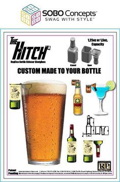 Let us create a custom side car for your next beer. Confused? Give us a call and we'll explain. #SWAGwithStyle
