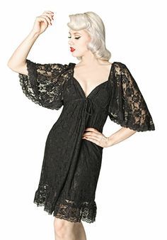 Black Vintage Style Victorian Lace Dress [blk-lace21] - $13.75 : Uturn Utopia, Retro footwear, Rockabilly Shoes, Vintage Inspired Clothing, jewelry, Steampunk