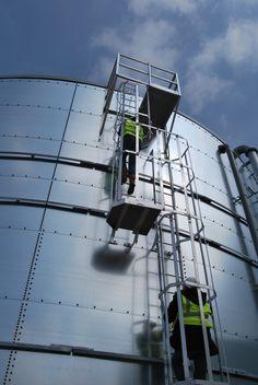 reportage photo sur une usine de biocarburant