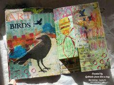 Gabriel Langfeldt-Feldmann - Art Journal with Friends   Unruly PaperArts