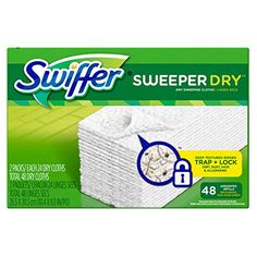 Swiffer Sweeper Dry Sweeping Cloth Refills 48 Count -- Check this awesome product by going to the link at the image.