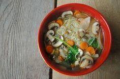 The Everyday Vegetarian: Quick and easy vegetable rice noodle soup