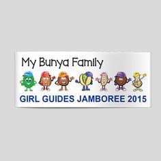 GBG My Bunya Family Car Sticker