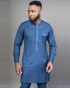 Modern Tradition Styles For Men African Wear Styles For Men, African Shirts For Men, Ankara Styles For Men, African Dresses Men, African Attire For Men, African Clothing For Men, African Style, Nigerian Outfits, Nigerian Men Fashion