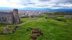 The remains of a 14th century Turkish bath found in Shkodër, Albania