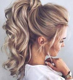 Night Hairstyles, Box Braids Hairstyles, Straight Hairstyles, Hairdos, Goth Hairstyles, Formal Hairstyles, Pixie Hairstyles, Ponytail Updo, Blonde Ponytail