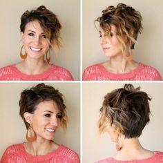 Kurze Haare locken - Schritt-für-Schritt Anleitung