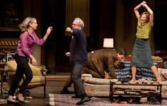 Taking No Prisoners in Boozy, Brutal Head Games: Tracy Letts in 'Who's Afraid of Virginia Woolf?'