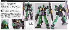 GUNDAM GUY: HGUC 1/144 Nemo [A.E.U.G. Mass Production Mobile Suit] [Updated 1/3/2013]