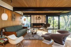 1959 BUFF & HENSMAN ARCHITECTURAL HOME IN HOLLYWOOD HILLS