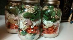 I LOVE mason jars! I fell in love with them because of the mason jar salads I was making. But then I bought some jars with a wide-mouth and were a little smaller and found I had too many mason jars and not enough room. I was also dealing with another problem. Apparently, my husband …