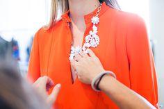 J.Crew women's fittings. New York Fashion Week spring/ summer '14. #NYFW