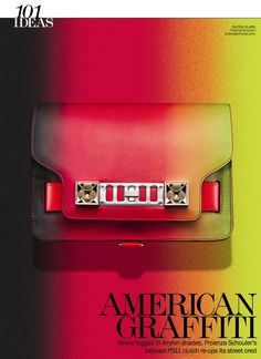 Kyle Anderson: Spray-Painted Accessories Story, Marie Claire, KyleEditor