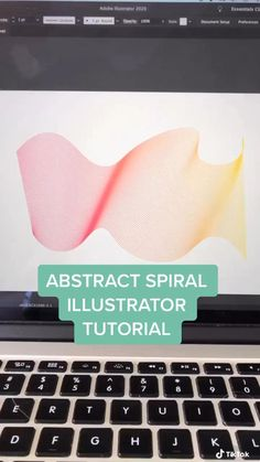 How to create abstract spiral line art and illustration in illustrator design Graphic Design Lessons, Graphic Design Tools, Graphic Design Tutorials, Graphic Design Posters, Graphic Design Inspiration, Photoshop Design, Photoshop Tutorial, Pattern Illustration, Digital Illustration