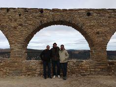 Twitter / DavidFerrer87: Con @Joserosbis y @jowy19 en el castillo de Morella. Ahora a comer y vuelta a casa. Muy buen fin de semana!