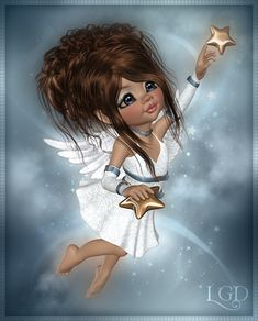 Reach for the stars. Little Girl Pictures, Cute Little Girls, Cute Fairy, Baby Fairy, Beautiful Fairies, Beautiful Dolls, Angel Wallpaper, Fairy Pictures, Black Artwork