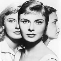 Promo shot of Joanne Woodward in The Three Faces of Eve (1957).