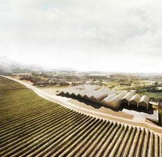 Drawings realized for Emilio Tuñón Architects for the Architectural Ideas Competition of the Benjamin de Rothschild & Vega-Sicilia Winery in Samaniego (Spain). Home Architecture Styles, Spanish Architecture, Architecture Collage, Architecture Visualization, Architecture Drawings, Landscape Architecture, Interior Architecture, Interior Design, Gable House