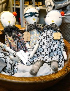 Lily Bay Studio + Bazaar in Savannah, Georgia. #dolls
