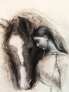 """Carla"" 42x60 cm / Pastel on Paper / 2014"