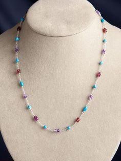 Sarasvati Charm Necklace
