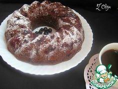 Шоколадный кекс с черной смородиной Десерты, Рецепты, Еда
