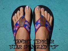 "@TawdryTerrier ""Star Spangled Pup"" - 1 bottle available at https://www.etsy.com/shop/TawdryTerrier #fourthofjuly #nailpolish #indienailpolish #independenceday #tawdryterrier"