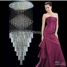 Wholesale Ceiling Light - Buy 2013 Modern Ceiling Lamp Crystal Ceiling Lamp for Home Produce from China Hotel Lamps Dia500*H1800m, $256.52 | DHgate