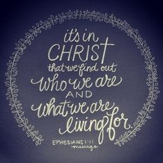"""""""Understanding (y)our identity in Christ changes everything."""" I heard words like this countless times in sermons and books…all I had to do is understand, or begin to understand, and everything would change. As a new Christian, I was hungry to know and desperate for change as someone who spent their life without Jesus and spent …"""