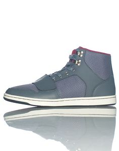 CREATIVE REC MENS Grey Footwear Casual 9.5