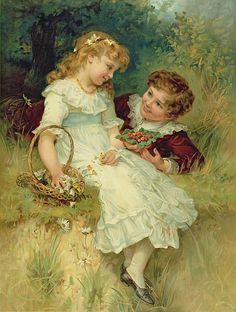 "Frederick Morgan...""SWEETHEARTS"""
