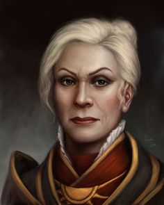Gwendolyn Valleau (Chronicles of Thedas) by DragonReine on DeviantArt