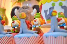 doces modelados festa circo