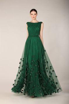 tulle dress emerald - Buscar con Google