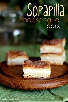 sopapilla cheesecake bars by cookies and cups  http://cookiesandcups.com/sopapilla-cheesecake/?utm_source=feedburner&utm_medium=feed&utm_campaign=Feed%3A+cookiesandcups+%28cookies+and+cups%29&utm_content=Google+Reader