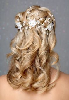 wedding hairdos half up bridal hair dos The New haircuts Man and women | Style Inspirations