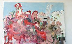 Sabine Tress, My Beautiful Valentine, 2013, acrylic, oil, and spray paint on…