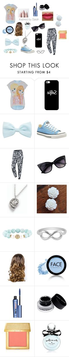 """""""Inspired by Sarah"""" by emotional-juvenile ❤ liked on Polyvore featuring Disney, Casetify, Converse, NIKE, Talbots, Devoted, Jewel Exclusive, Lipsy, NYX and FACE Stockholm"""