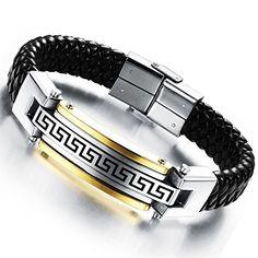 Flongo Bracelet Acier Inoxydable Cuir Corde Cordon Tresse... https://www.amazon.fr/dp/B00YE92WRW/ref=cm_sw_r_pi_dp_xrSrxbTFDG2KN