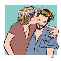 Midsummer  Finn Jones and Gethin Anthony  #renly #loras