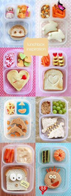 Mmmmmmm... Mondays * Lunchbox Inspiration from blog Studio ToutPetit: Mmmmmmm... Mondays * Lunchbox Inspiration<br> Cute Food, Good Food, Yummy Food, Yummy Lunch, Toddler Meals, Kids Meals, Toddler Food, Baby Food Recipes, Snack Recipes