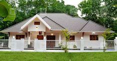 പ്രളയം, കൊറോണ; അതിജീവനത്തിന്റെ നേർസാക്ഷ്യമാണ് ഈ വീട്; കഥ ഇങ്ങനെ Bungalow House Plans, Dream House Plans, Small House Plans, Village House Design, Kerala House Design, Single Storey House Plans, Cosy House, Beautiful House Plans, House In Nature